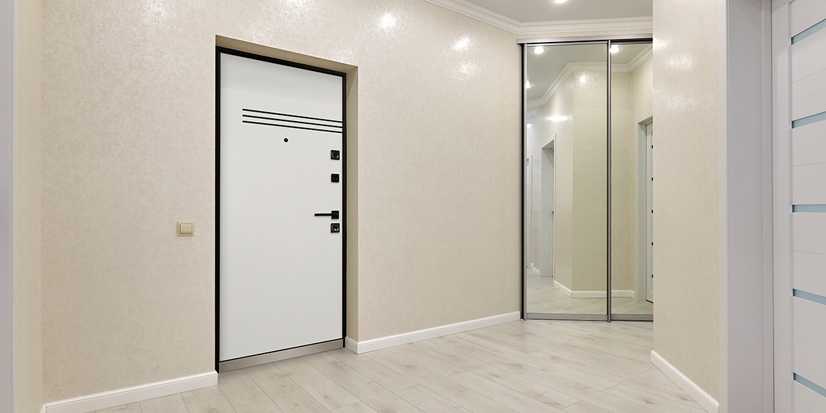 Входная дверь «Винсент» в оттенке «Белый»