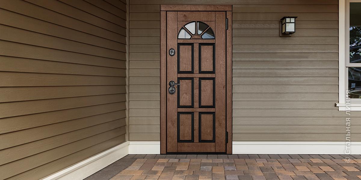 Входная дверь для коттеджа «Кармен»