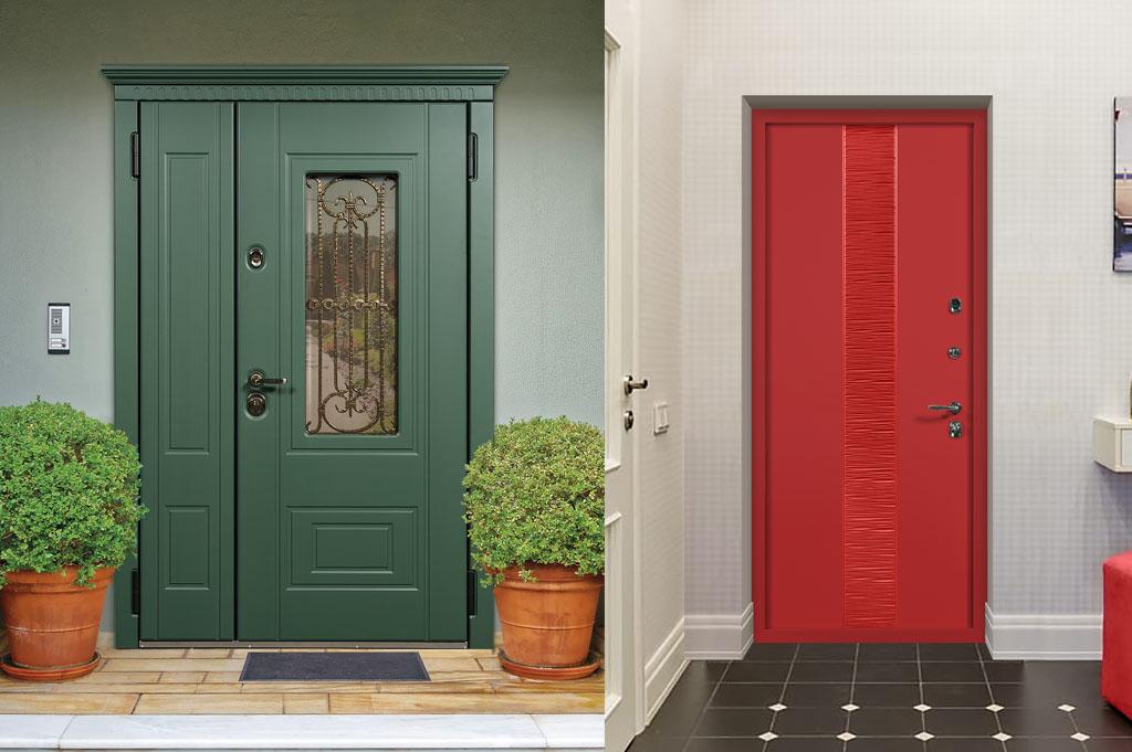 Двери в дом и в квартиру