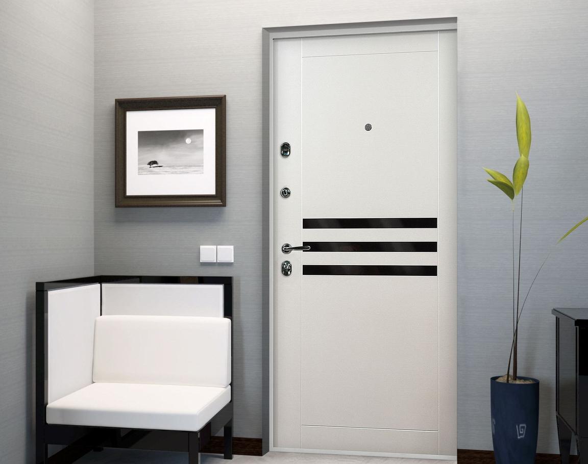 Белые двери в современном стиле