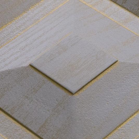Экошпон Premium «Ясень белый», патина золото
