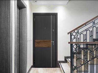 Звукоизоляция стальной входной двери