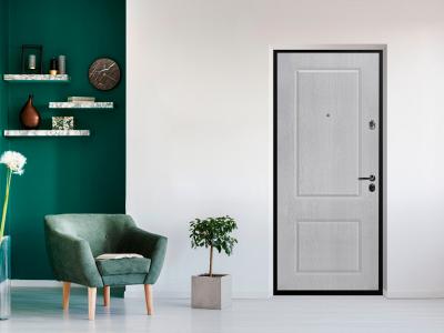 Какую входную дверь выбрать — светлую или темную?