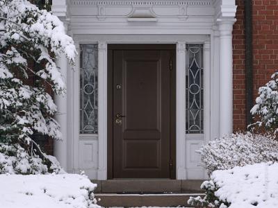 Теплоизоляция входной двери