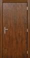 """""""Теплая"""" дверь с усиленной коробкой - снаружи"""
