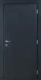 Дверное полотно из оцинкованной стали - снаружи