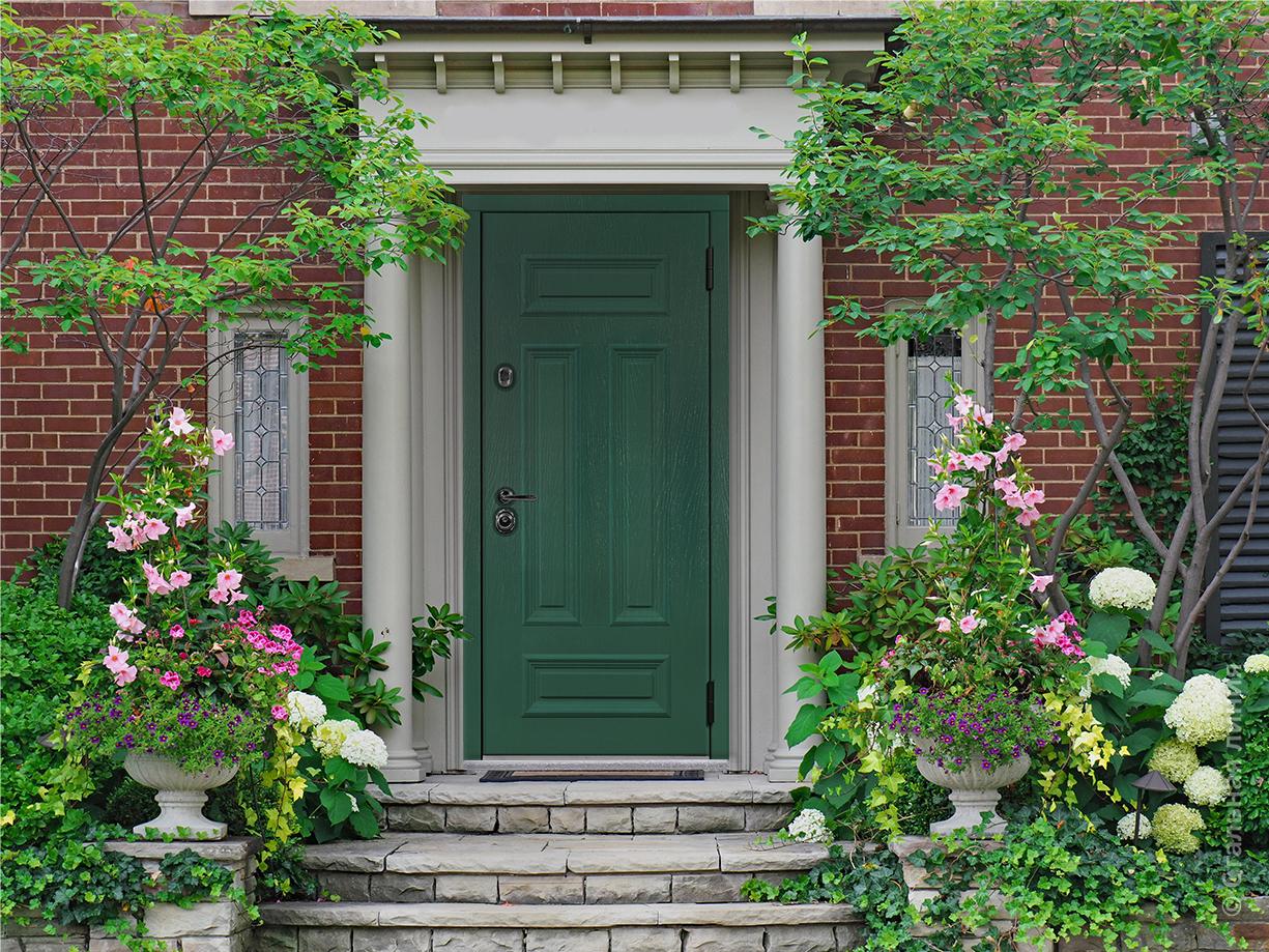 Зеленая дверь Сюита