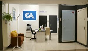 Фирменный салон «Стальная линия» = МЦ «Аквилон», ул. Новолитовская, 15Д, 2 этаж, секция 242