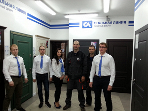 Фирменный салон «Стальная линия» = ул. Курчатова, д. 1Б